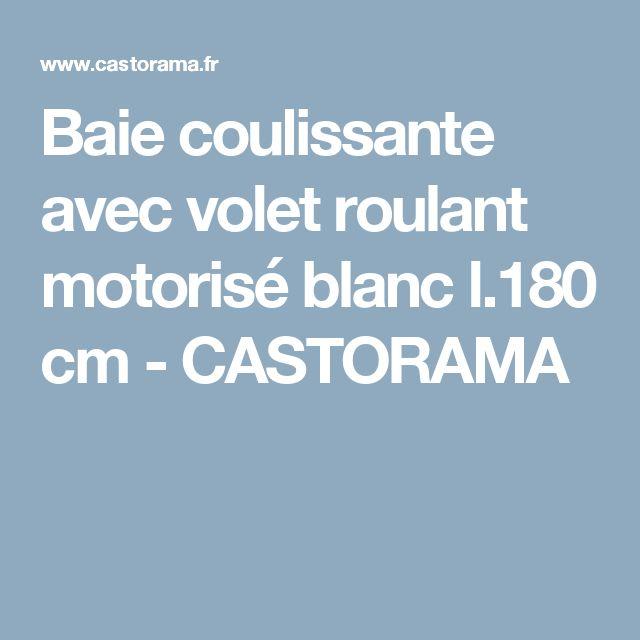 17 meilleures id es propos de volet coulissant sur pinterest volet coulis - Baie coulissante castorama ...