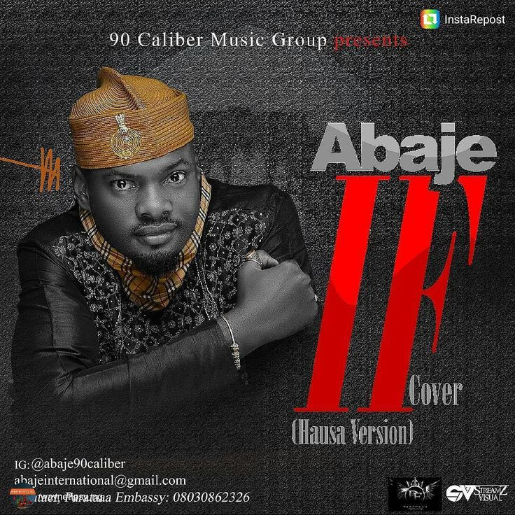 """The Return Of Abaje  History has it that the advent of contemporary Hausa Hip-hop culture is """"Abaje"""" --- His hit single """"Mubaje"""" thrilled music lovers --- and ruled the streets of Northern Nigeria like any ever green song will do --- But for awhile we have not heard anything from the Mubaje Crooner.  Today we are talking about the Return Of Abaje --- Abdullahi Sulaiman .J. popularly known as Abaje is back with a bang-bang!  Abaje is making a come back with Davido's IF COVER (Hausa Version)…"""