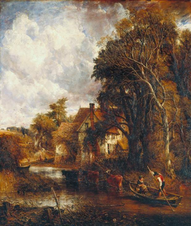John Constable; Valley Farm; 1835; olio su tela; Tate Britain, Londra.