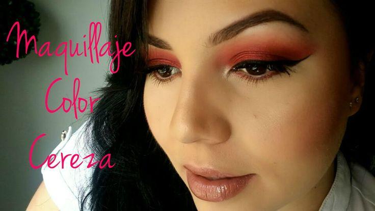 Maquillaje Color Cereza