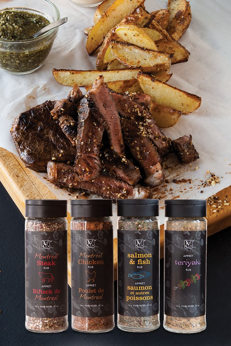 The rubs are back in town! Bring out the best in your meat with savoury, instant flavour.