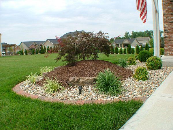 Lighting landscape 24 simple backyard landscaping ideas for Basic garden maintenance