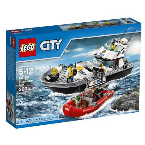 "LEGO City Police Patrol Boat (60129) - Toys""R""Us"