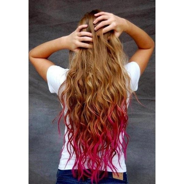 Light Pink Hair Ombre Brown
