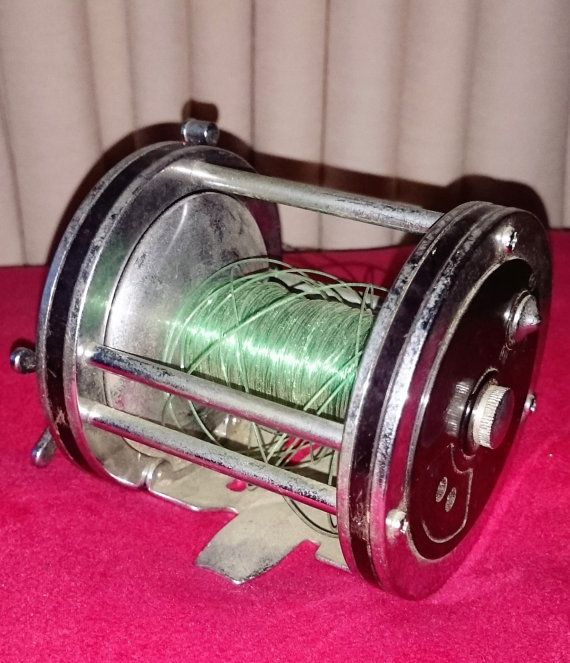Vintage Penn Fishing Reel Casting Fishing by Penelainbricandbrac