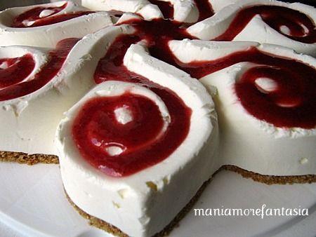 Una cheesecake light, fresca e goduriosa.