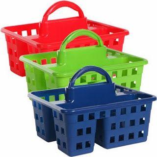 school supplies caddy, caddy, tote, #dollartree