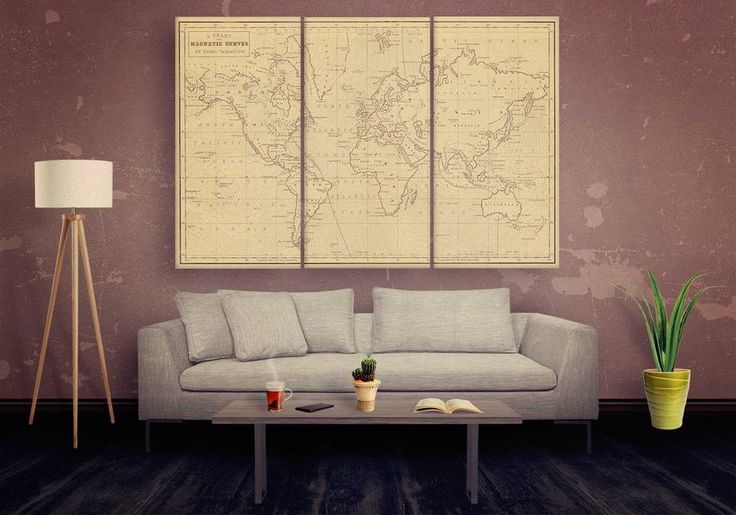 54 best Male Living Space Wall Art images by Panel Wall Art Canvas ...