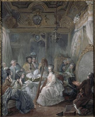 """from website: """"Marie Antoinette took as much care of her person as she did her clothes and her beauty regime was extensive. At night she would sleep wearing gloves lined with wax, rose water and sweet almond oil and she probably treated her hair with a wash of saffron, turmeric, sandalwood and rhubarb in order to accentuate its strawberry blondness."""""""