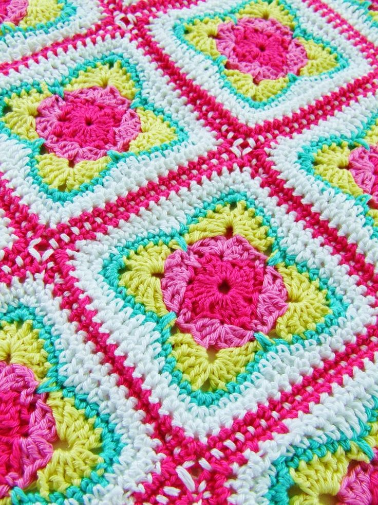 Granny squares - crochet