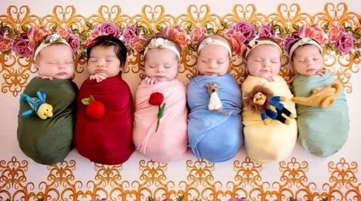 Η πιο γλυκιά φωτογράφιση που έχετε δει: Νεογέννητα ντυμένα πριγκίπισσες της Disney