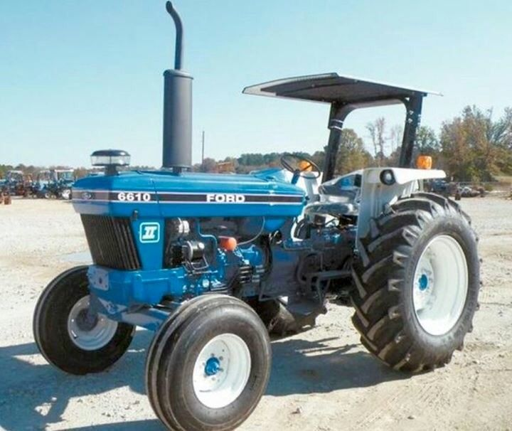 Ford 6610 82 93 78 Hp Tractors Ford Tractors Vintage Tractors