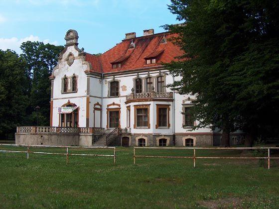 Pałac w Targoszynie - Pałac Targoszyn   Dolny Śląsk