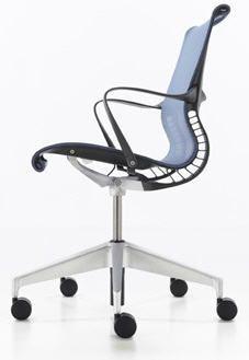 Herman Miller Setu – Simplicity Ergonomic Office Chair for Multipurpose Seat