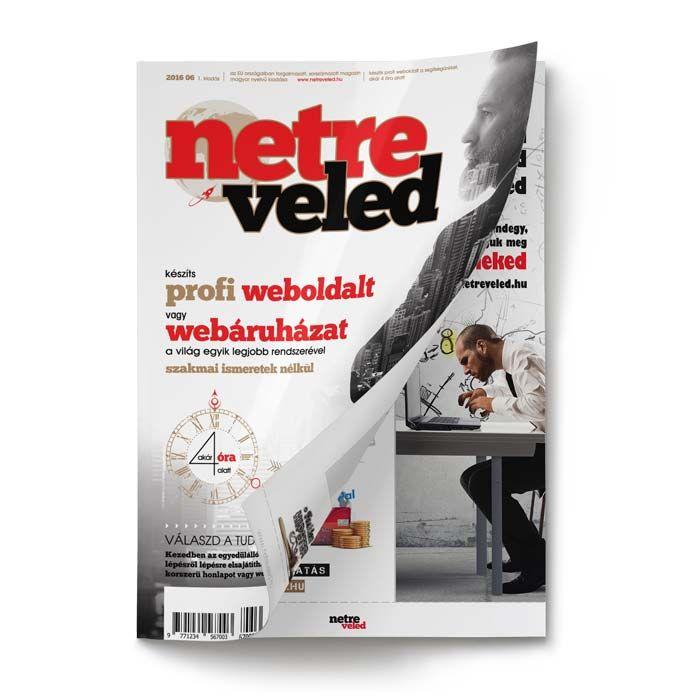 Weboldalkészítés egyszerüen a Netre Veled magazin segítségével