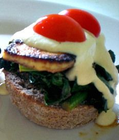 Tofu-Kale Benedict gives eggs a run for their money.