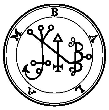 The Seal of the Demon Balam