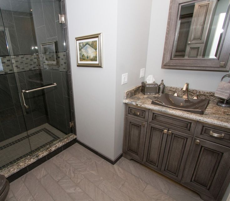 Natural Stone Backsplash Kitchen Corner Drawer Cabinet Showcase: Hummelstown With Typhoon Bordeaux ...