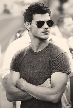 Taylor Lautner, loved him since Shark Boy...but he's all grown up now<3