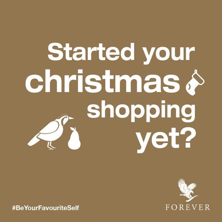 The festive season is here! #ForeverLiving #BeYourFavouriteSelf