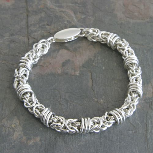 Make A Chain Mail Bracelet: 947 Best CHAIN MAILLE PATTERNS Images On Pinterest