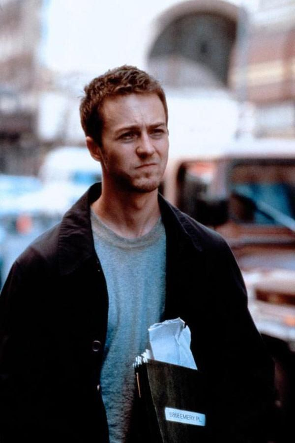 Fight Club - ooooooo Edward Norton lovely man and fab actor.