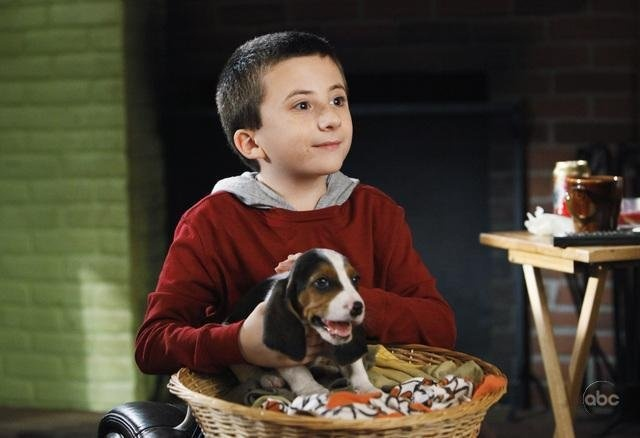 Brick Heck (Character)  from The Middle (2007) (TV)   Still of Atticus Shaffer in The Middle.