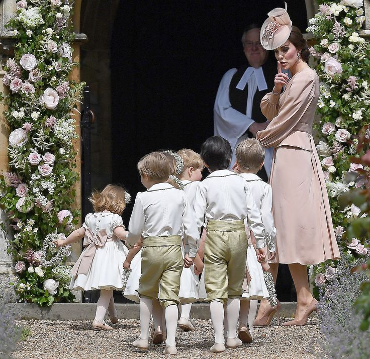 Cheeky Page Boy Steals the Show at Pippa Middleton's Wedding — and It Wasn't Prince George!