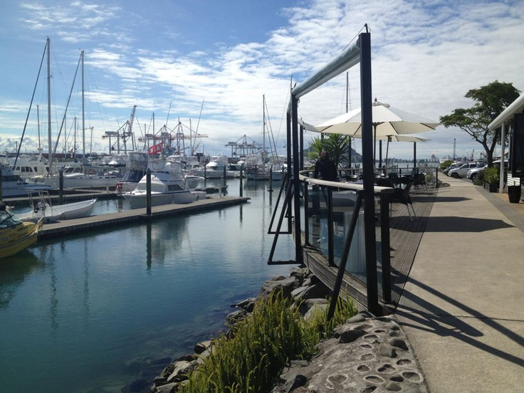 Outside of Phils Place in Tauranga, New Zealand