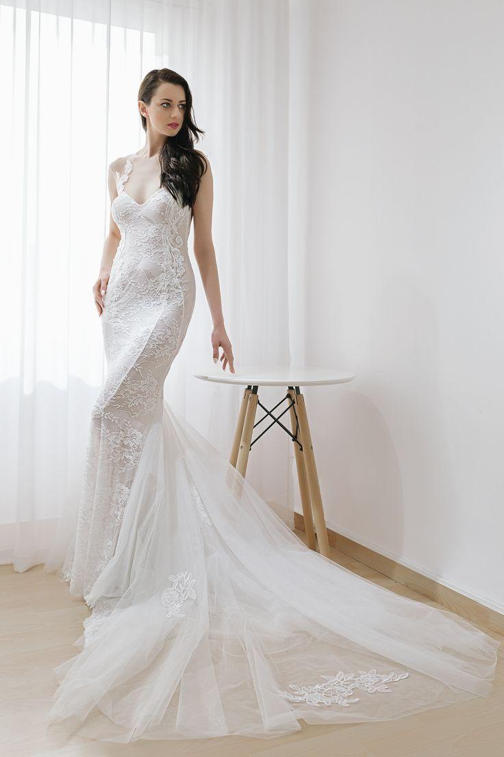 wedding dresses 2018 Noel Collection.MERMAID SS18005