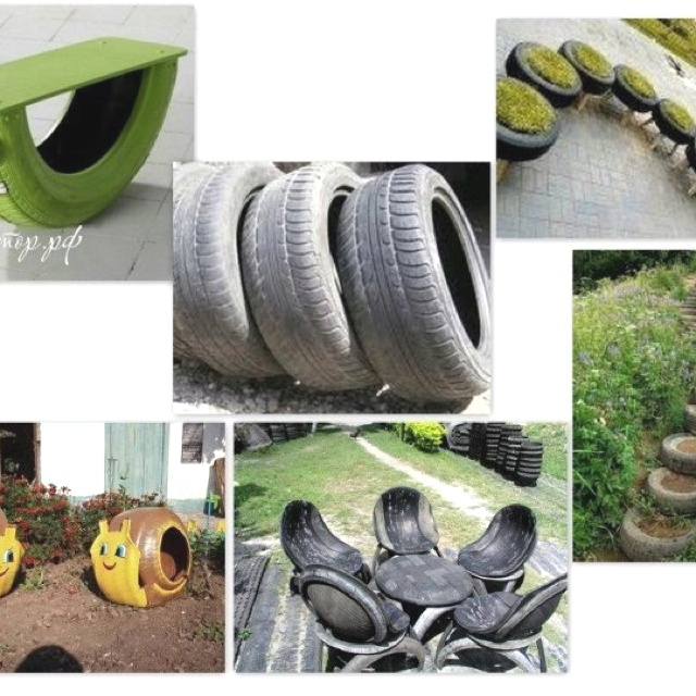 29 best tyre projects images on pinterest playground for Uses for old tyres