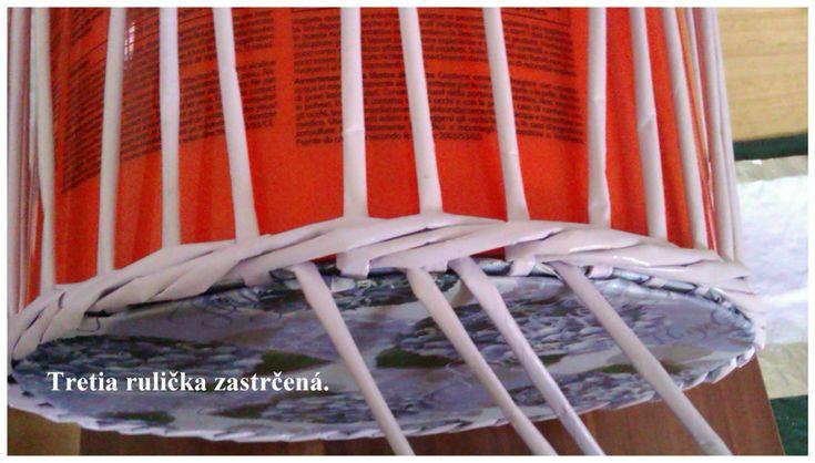 Opletok štyrmi (schovanie dna) :: Moje papierové šialenstvo