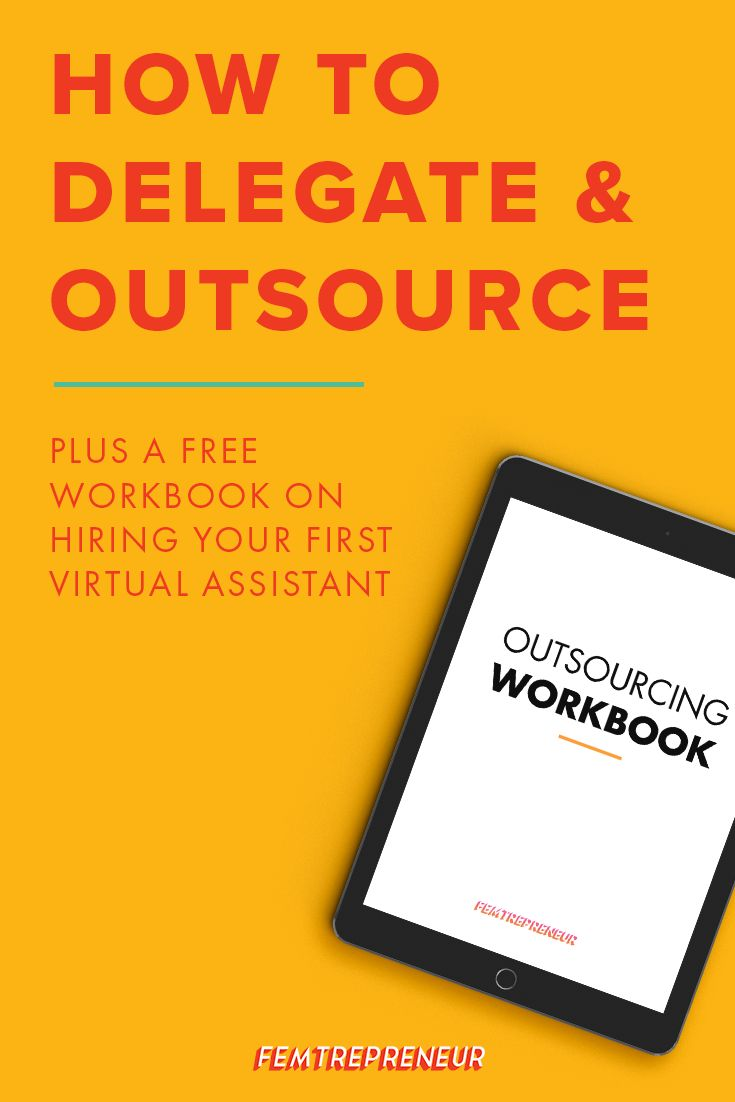 """Today we're answering an awesome question for those of your growing your  businesses: """"how do you know what to delegate to your first VA if you're  new to outsourcing?"""" We're going to walk you through the entire process!"""