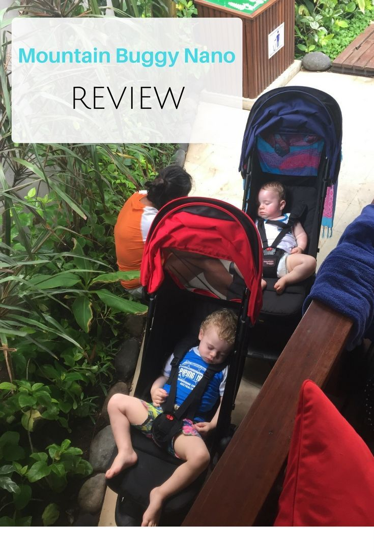 We take our Mountain Buggy Nano with us to Bali on the plane, hear our thoughts how it handles the streets of Bali