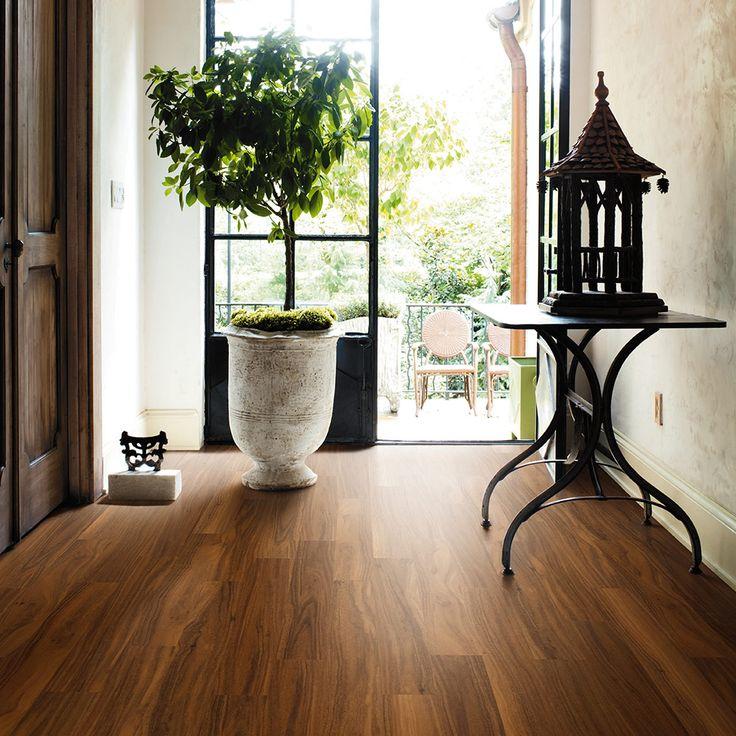Decorative Vinyl Options, Adura Products - Mannington Flooring Burma Teak in Butternut AW541