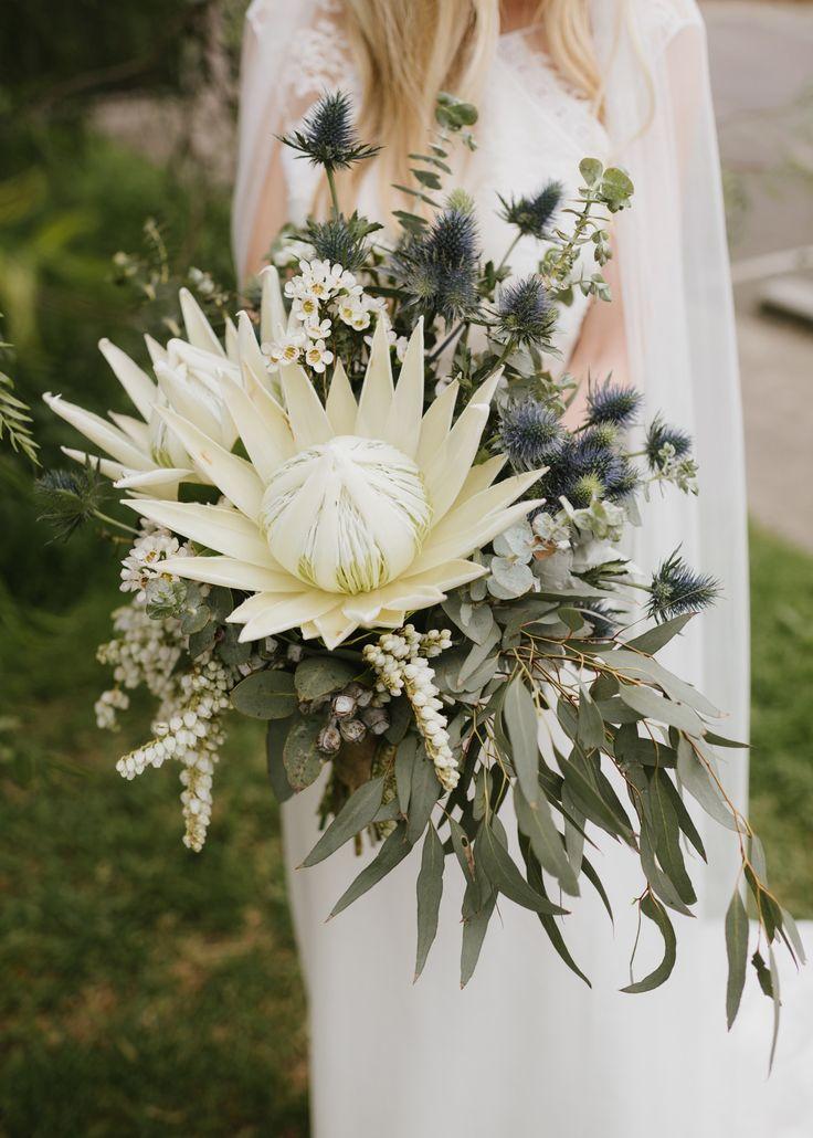 30 Amazing Protea Wedding Bouquets Protea Wedding Cheap Wedding Flowers Bohemian Wedding Bouquet