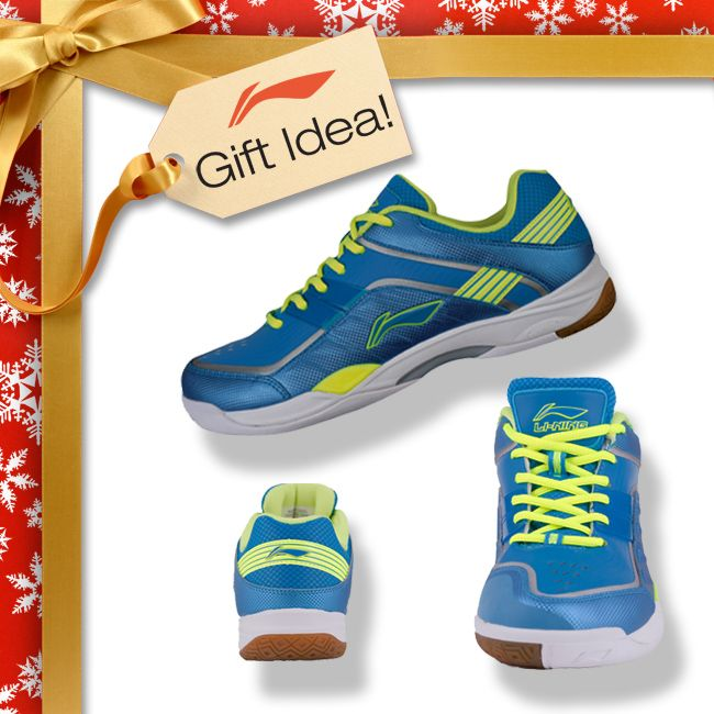 BADMINTON LOVERS GIFT IDEAS! Get the badminton lover in your family a Christmas gift they will truly LOVE this year like these Gorgeous Li-Ning Badminton Shoes [AYZJ015-3] for only $99! Find them at your local USA and CANADA dealer or here at www.shopbadmintononline.com/shoes-for-badminton-c-4.html #MakeTheChange!