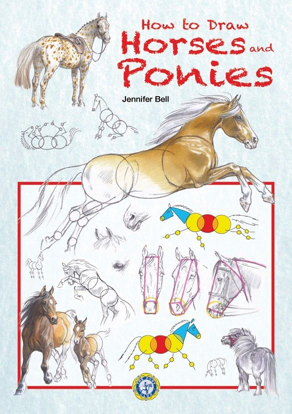 Jennifer Bell is a well-known and well-loved equestrian artist, and in this book she shares her knowledge and experience of drawing brilliant horses and ponies. See more at - http://www.quillerpublishing.com/new-releases/how-to-draw-horses-and-ponies.html