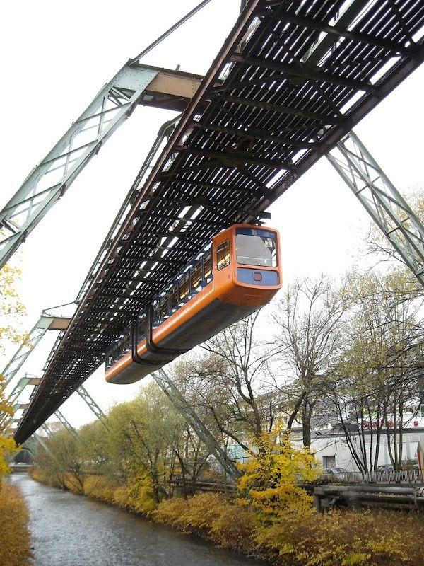 Wuppertal Schwebebahn: Germany's Hanging Train.