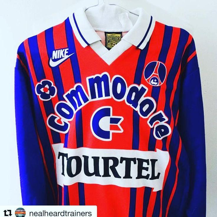 🙌 beaut of PSG shirt 🇫🇷 from @nealheardtrainers >>Finally got my hands on this beauty - got to be in volume 2 of ALG - #psg #footballshirt #soccerjersey #nike #design #bookstagram #futebol #futbol #calcio #nikefootball @histoire_du_psg #streetwear...