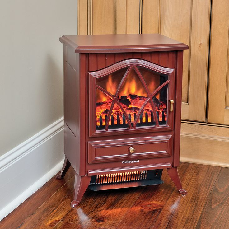 comfort smart 600 sq ft cranberry infrared fireplace stove cs18ircrn