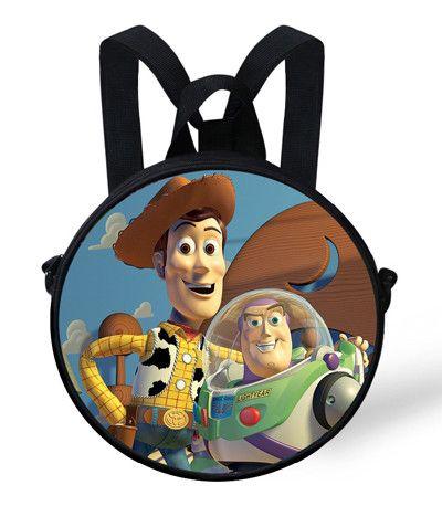 9-Inch Cute Baby Round Backpack Bag For Kids Teenage Mutant Ninja Turtles Backpack TMNT For Children Boys Preschool Bag