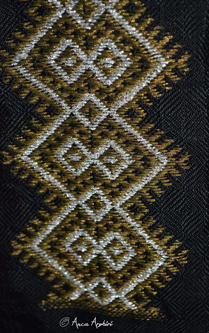 Romanian traditional clothing detail