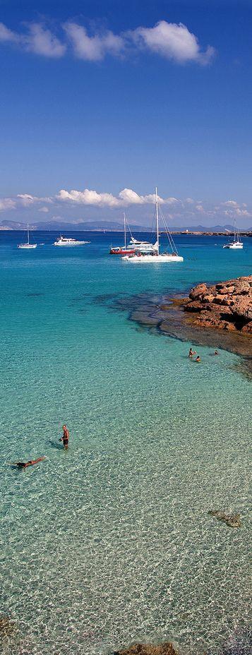 Isla de Formentera, España.