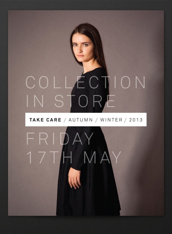 AW 2013 | in store Friday 17 May