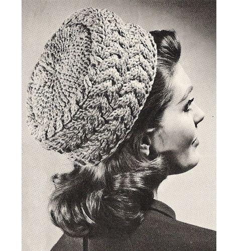 Vintage Pillbox Hat Knitting Pattern Is Easy Vintage