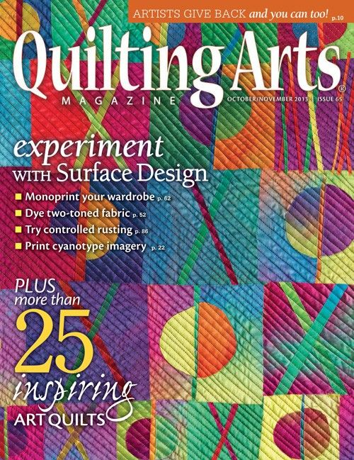 55 best Published! images on Pinterest   Cloth paper scissors ... : quilting arts subscription - Adamdwight.com