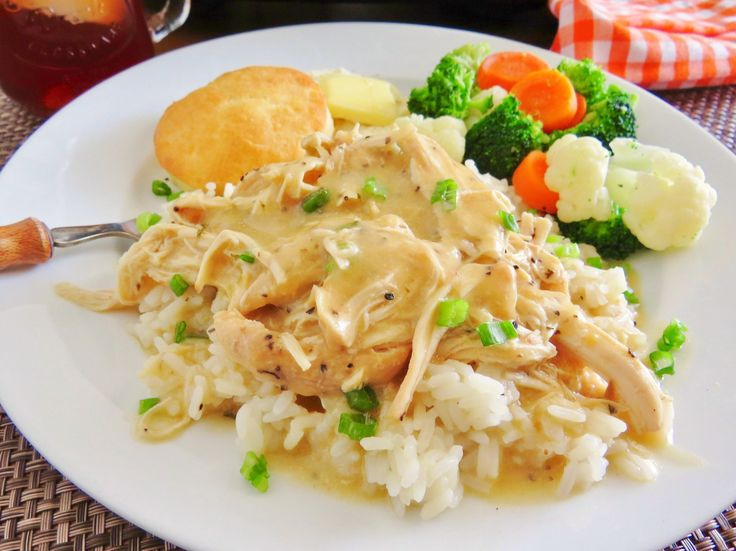 This recipe for Crock Pot Chicken and Gravy is my favorite. It is so easy to make and has amazing flavor! Perfect with rice or potatoes!