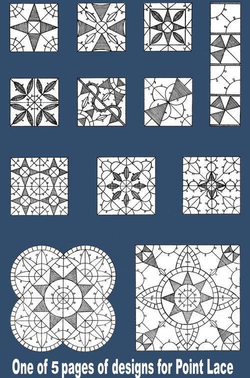 Point Lace designs