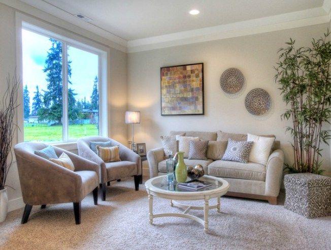 Elegant Neutral Paint for Living Room